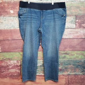 NEW size 20 short petite maternity straight jeans